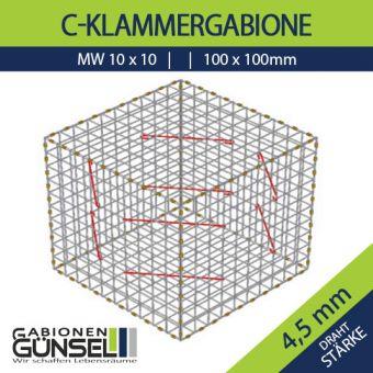 Gabione 200x100x50 Typ A  Mw 10 x 10