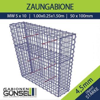 Zaungabione 100 x 25 x 150